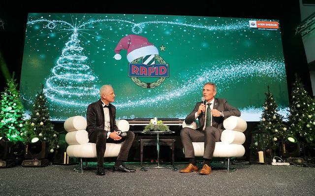Grün-weiße Weihnachten -